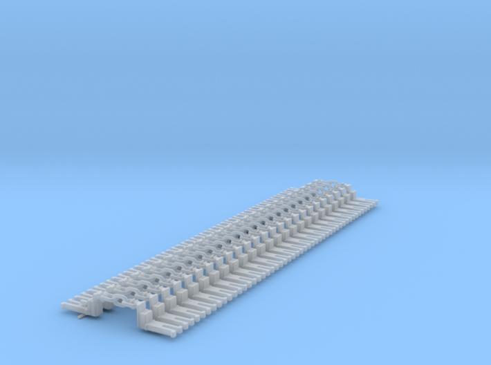 NEM OO Type 28 Couplings - Big-Step Up 3 Link x25 3d printed