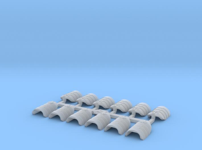 Shoulder Pads Overlap Traitor 3d printed