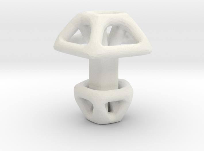 Pentagonal Cufflink 3d printed