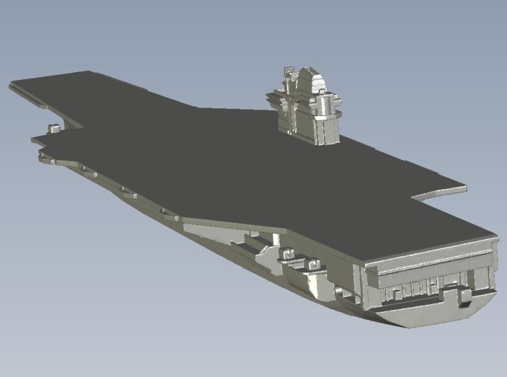 1/1800 scale USS Forrestal CV-59 aircraft carriers 3d printed