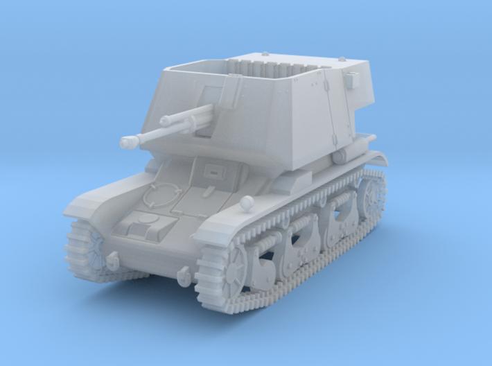 PV185E 4.7cm Pak(t) auf Pzkw 35R(f) (1/144) 3d printed
