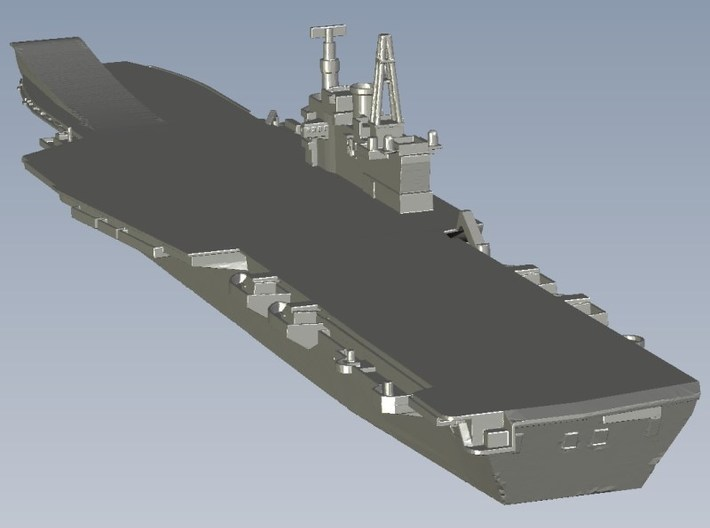 1/1800 scale HMS Hermes R-12 aircraft carriers x 2 3d printed