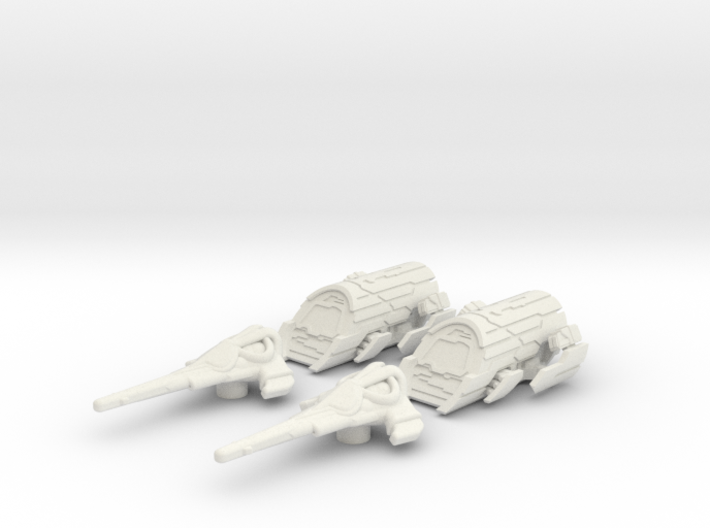 Atlantis Expedition Set: 1/270 scale 3d printed