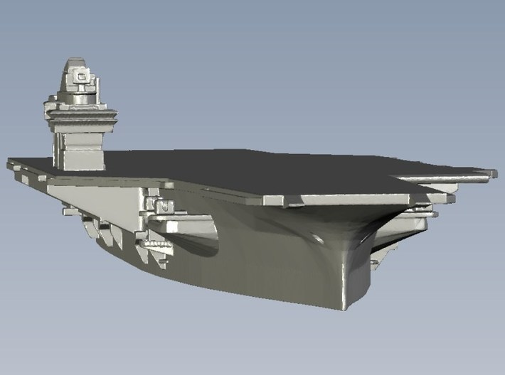 1/3000 scale USS Forrestal CV-59 aircraft carrier 3d printed