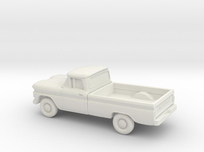1/87 1960-61 Chevrolet C10 Fleetside 3d printed