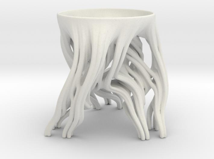 Tripod Julia bowl 3d printed