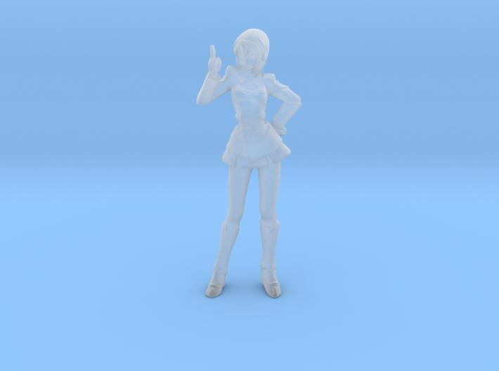 1/72 Gundam SD Female Pilot Hawke 3d printed