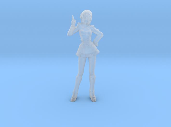 1/48 Mobile Suit Female Pilot Hawke 3d printed