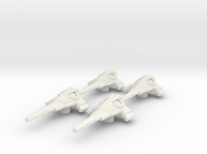 Wraith Dart set: 1/270 scale 3d printed