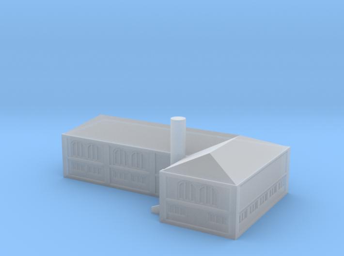 GL16 industrial harbor building 1/1250 3d printed