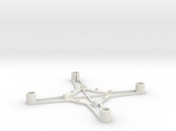 ST_drone_frame_v1_r6_btm_t2520 3d printed