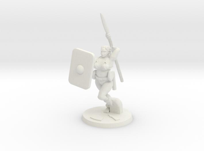Barbarian Katie 3 3d printed