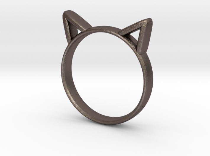 Cat Ears Ring 3d printed