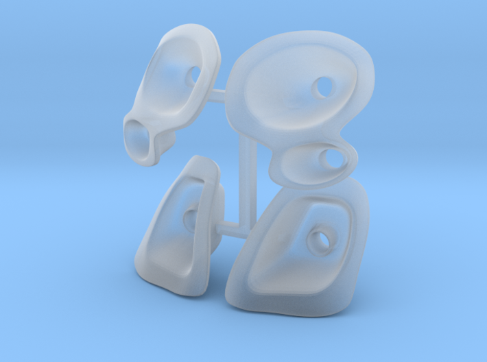 M-Chassis Fiat500 light bulb 3d printed