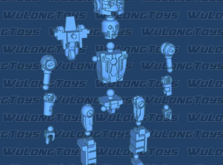MiniBot - Psychiatrist 3d printed
