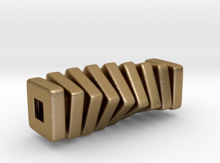 polyNINE ::: Square Pendant ::: v.01 3d printed