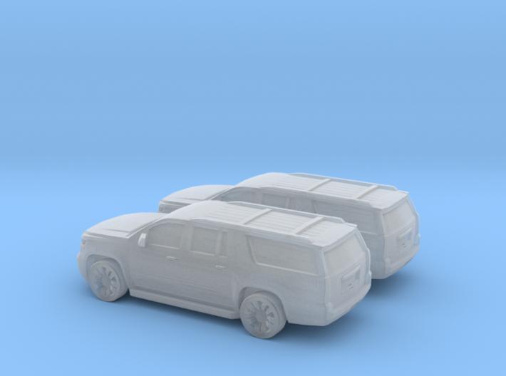 1/144 2X 2015 Chevrolet Suburban 3d printed