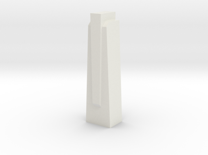 Triple Underpass East Wing Wall Cap 3d printed