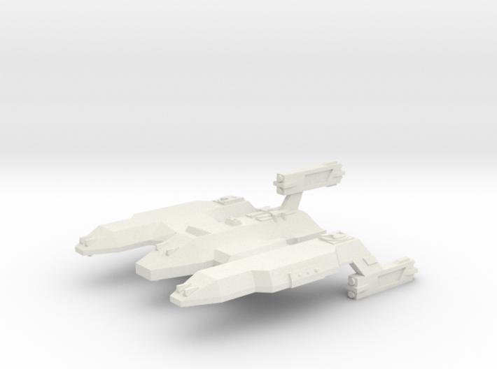 3788 Scale Lyran Lion Dreadnought (DN) CVN 3d printed
