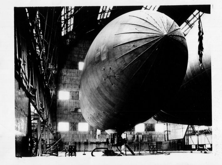 "US ARmy Airship ""TC-12-264"" 1/350 scale 3d printed photo: Eric Brothers collection"