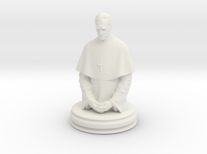 game of thrones bishop 3d printed This is a render not a picture