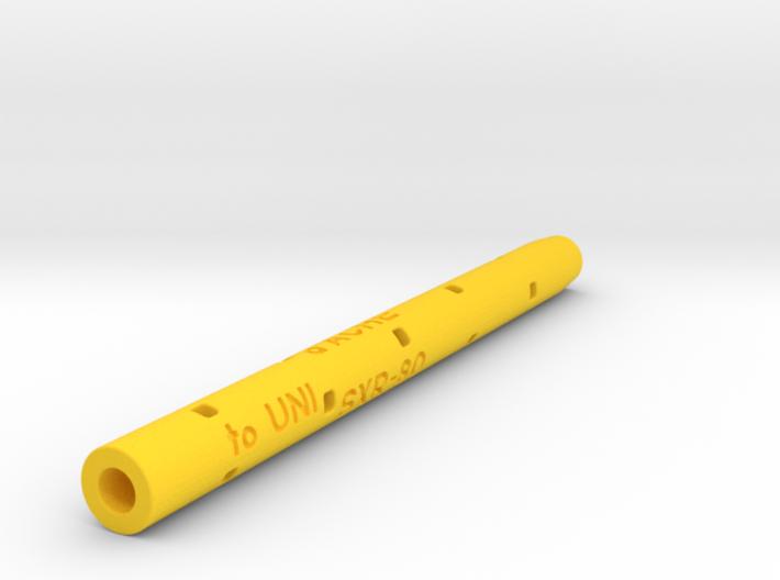 Adapter: Caran D'Ache Goliath To Uni SXR-80 3d printed