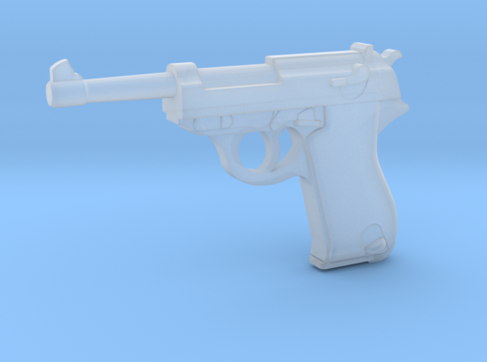 Walther P38 (1:18 scale) 3d printed