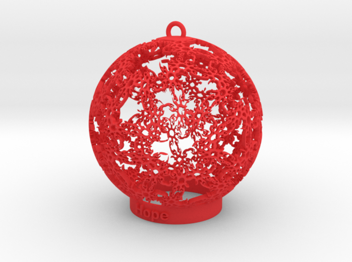 Hope Ornament 3d printed