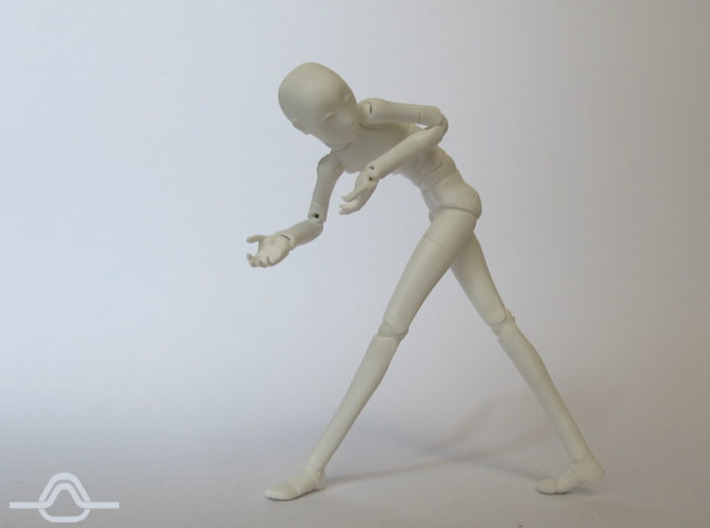 1:16 ANGEL Bjd Doll Kit 3d printed