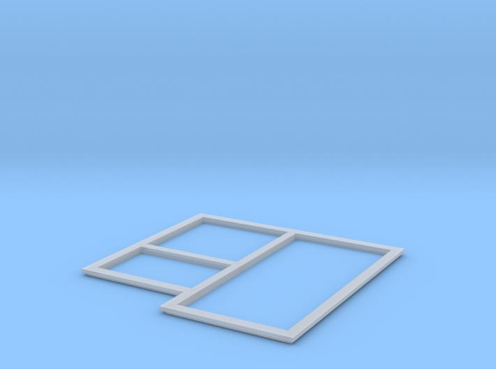 H9062 - Betonplattenform (H0 1:87) 3d printed