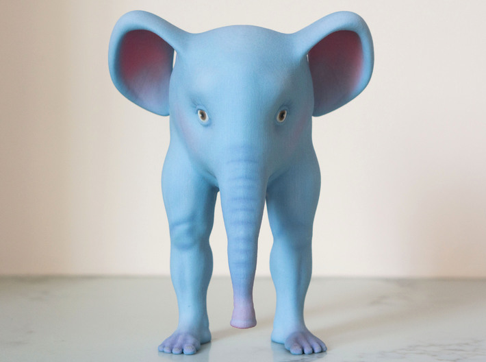 The Bipedal Elephant 3d printed So cute from the front!