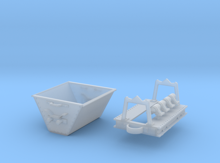 Decauville skip 3d printed