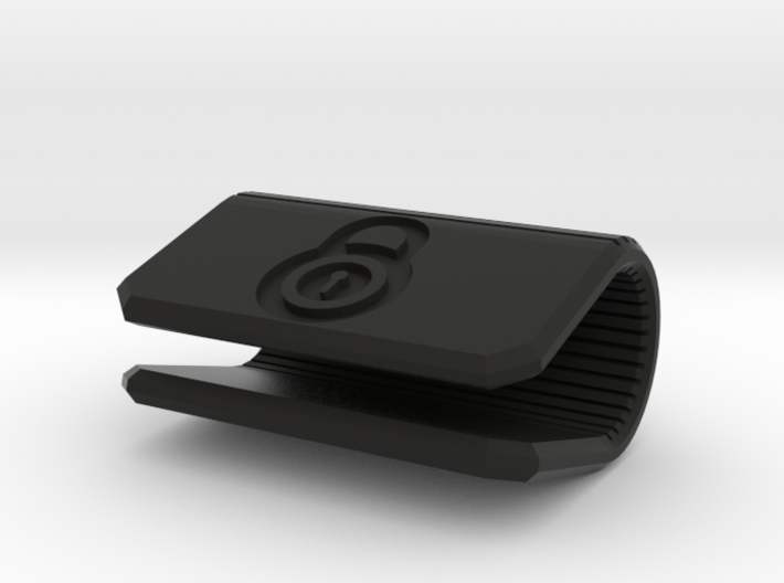 Corporate Webcam Cover - Add your own LOGO 3d printed Corporate Webcam Cover - Add your own LOGO