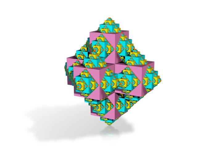 serpinsky Fractal 3 3d printed