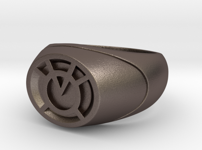 22.2 mm Orange Lantern Ring - WotGL 3d printed