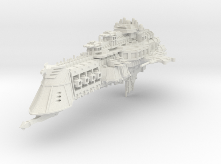 Orion Battlecruiser (1:15000) 3d printed