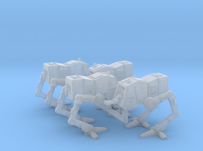 1/270 Imperial AT-PT (4) 3d printed