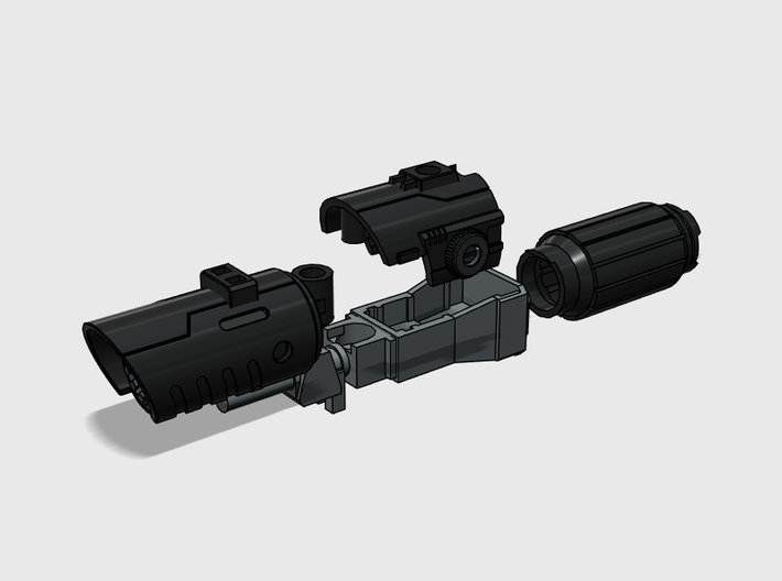 Fusion Cannon Mk.V 3d printed