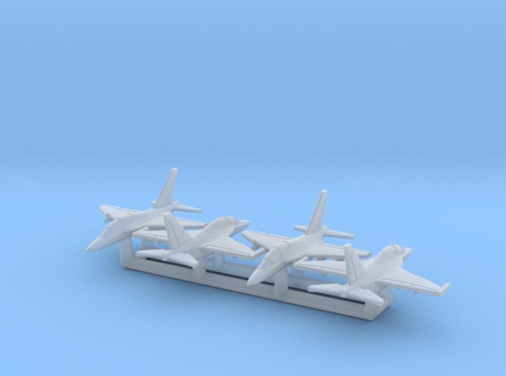 1/700 M-346 & Yak-130 x4 (FUD) 3d printed