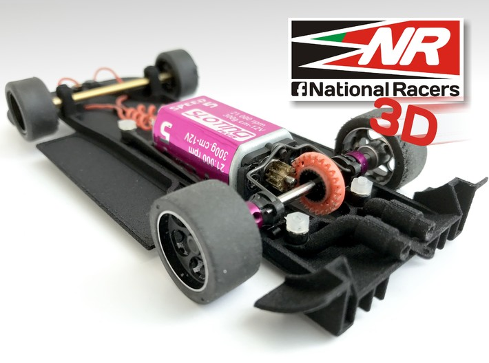 3D Chassis - Ninco Mosler MT900 R GT3 - Combo 3d printed