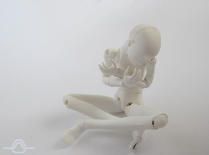 1:12 FUD ALTER EGO Angel Bjd Doll Kit 3d printed