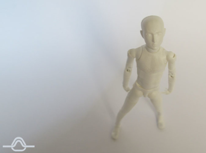 1:12 FUD ALTER EGO Male Bjd Doll Kit 3d printed