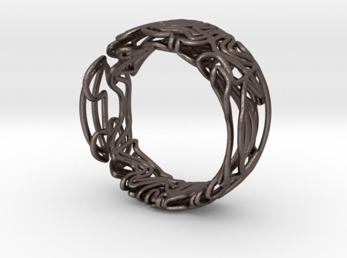 Spaghetti ring 3d printed