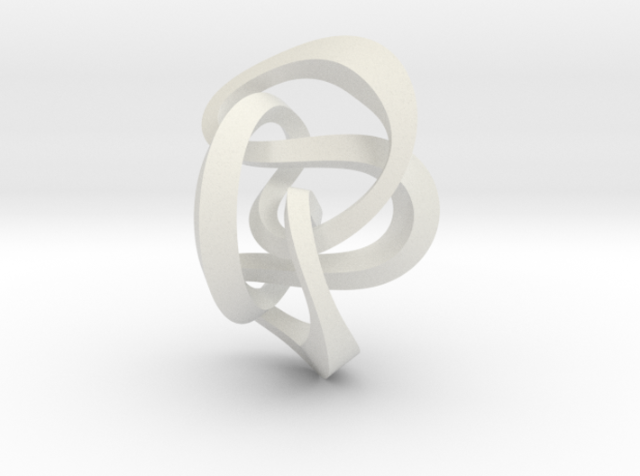 Knot 8₂₀ (Square) 3d printed