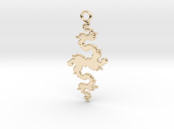 FDragon Pendant 3d printed