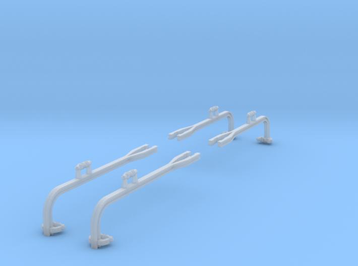4x gebogene Ausleger für Winkelmast (TT 1:120) 3d printed