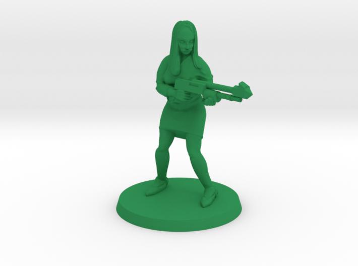Dagonite with Speargun 3d printed