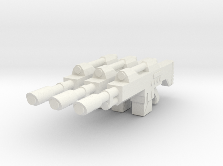 1/18 scale Laser rifle 3d printed