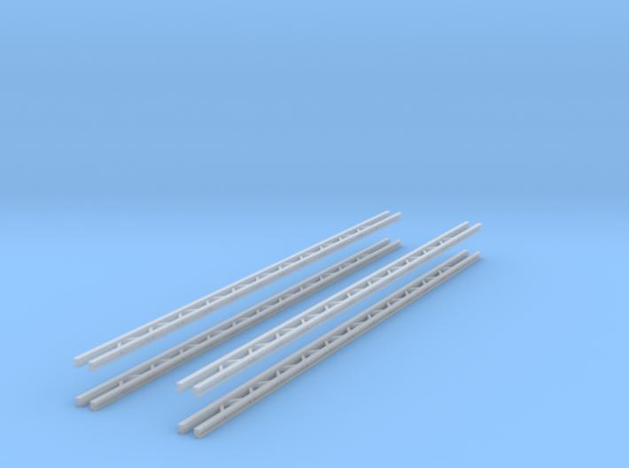 4x Querjoch 3-spurig (TT 1:120) 3d printed