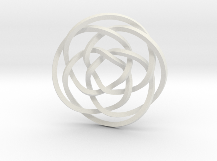 Rose knot 4/5 (Square) 3d printed